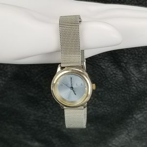Guess Women's Watch G55825L Silver Accent Band Sta
